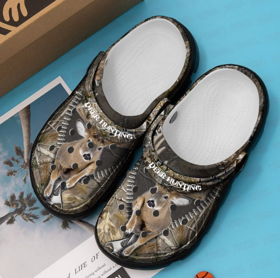 Deer hunting crocs crocband 1