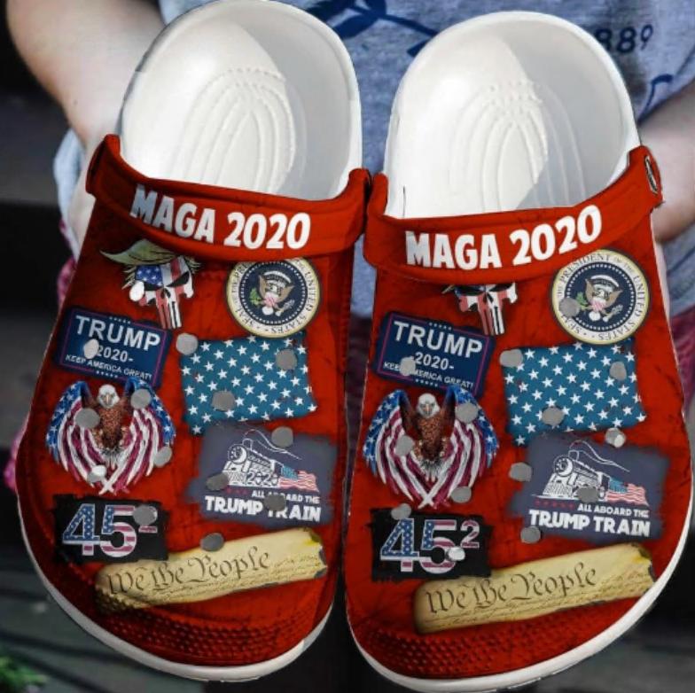 Donald Trump Maga 2020 crocs crocband