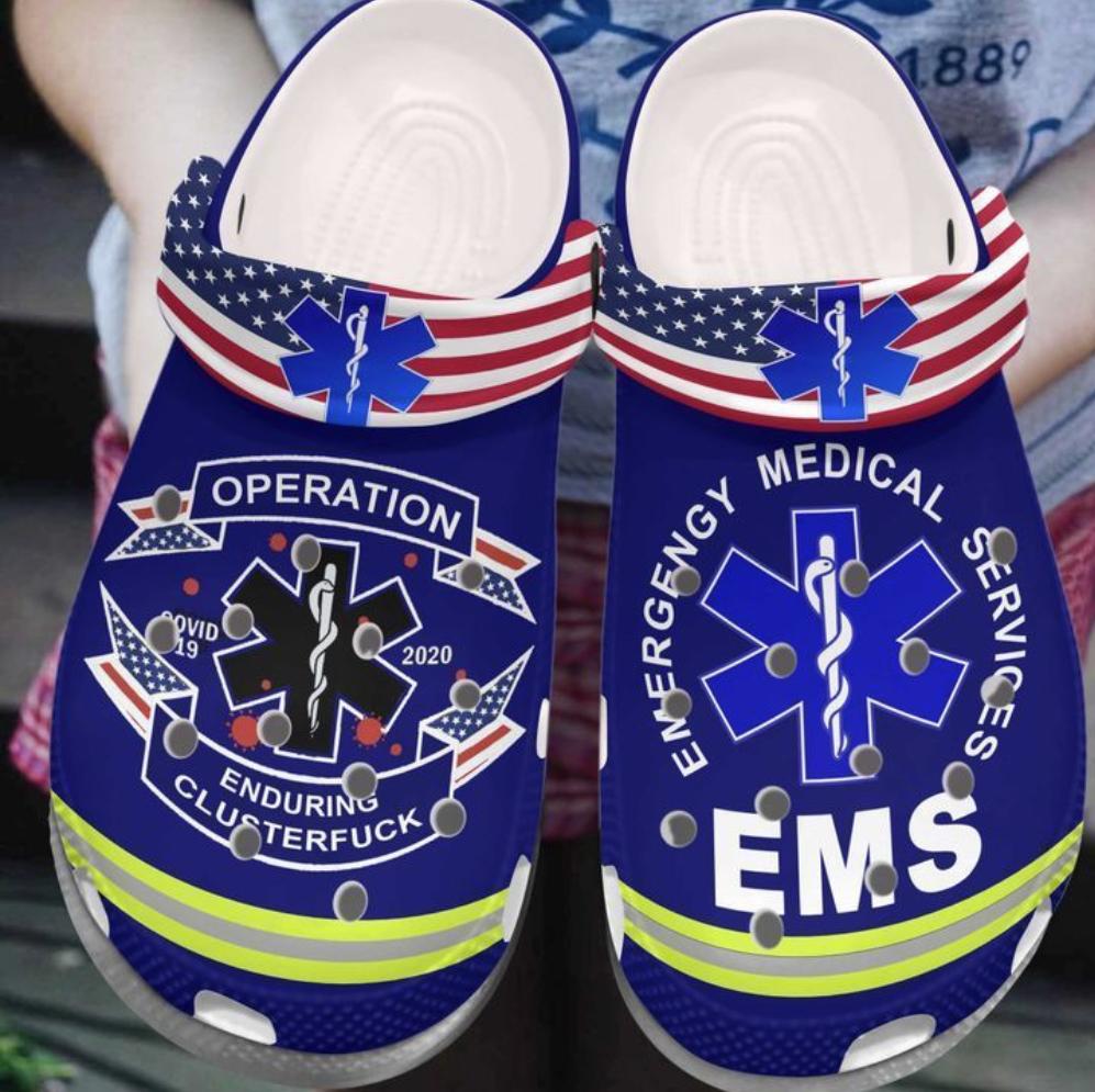 EMS operation enduring clusterfuck crocs crocband