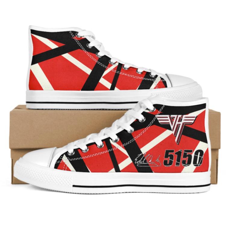 Eddie Van Halen 5150 signature high top shoes 1