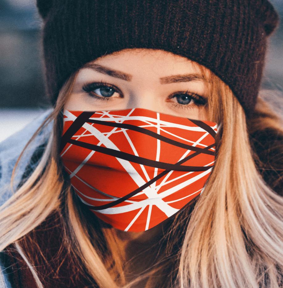 Eddie Van Halen face mask
