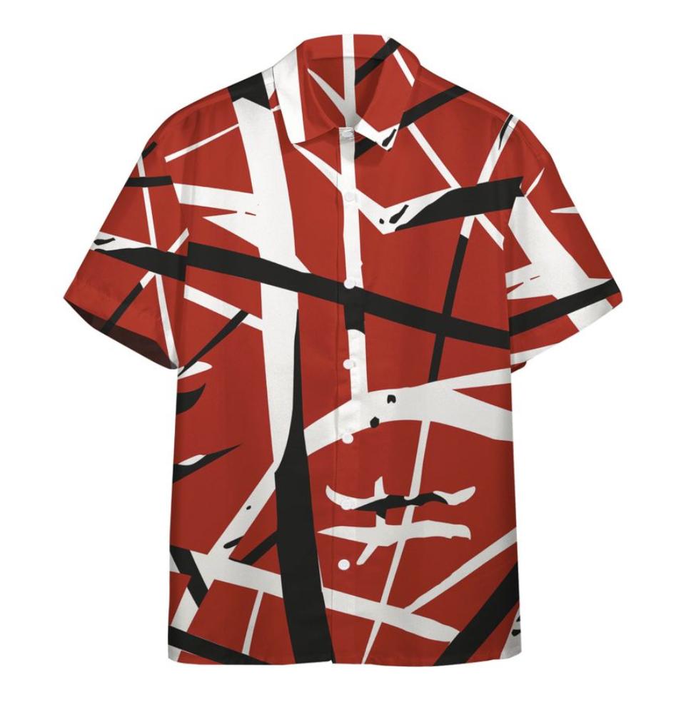 Eddie Van Halen hawaiian shirt