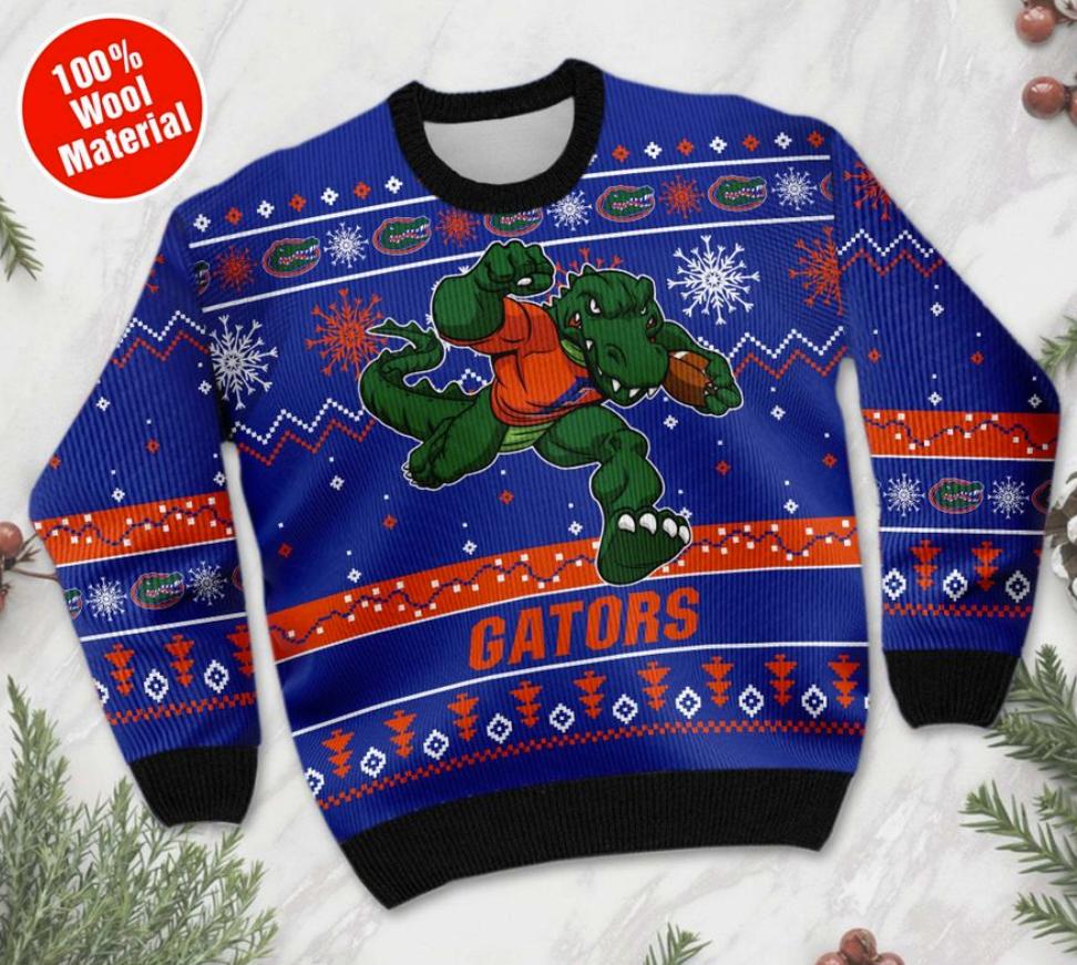 Florida Gators football ugly sweater 1