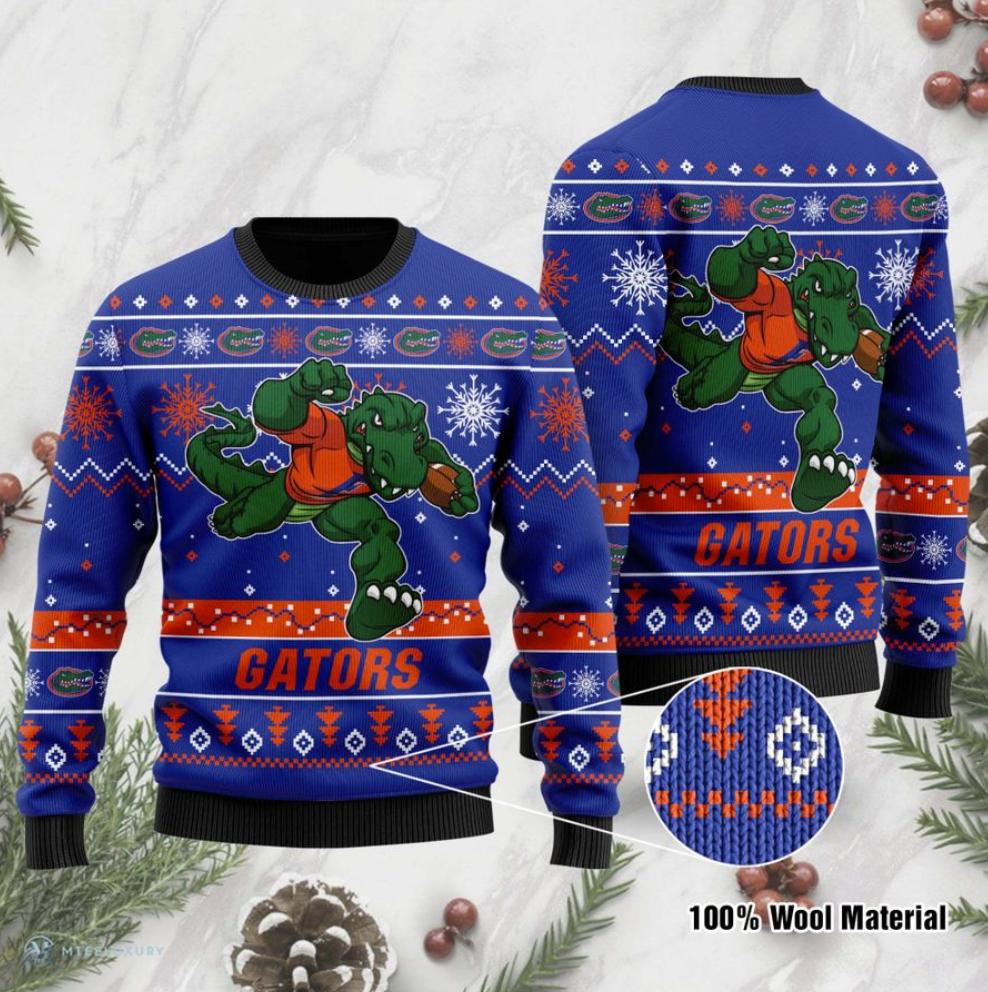 Florida Gators football ugly sweater