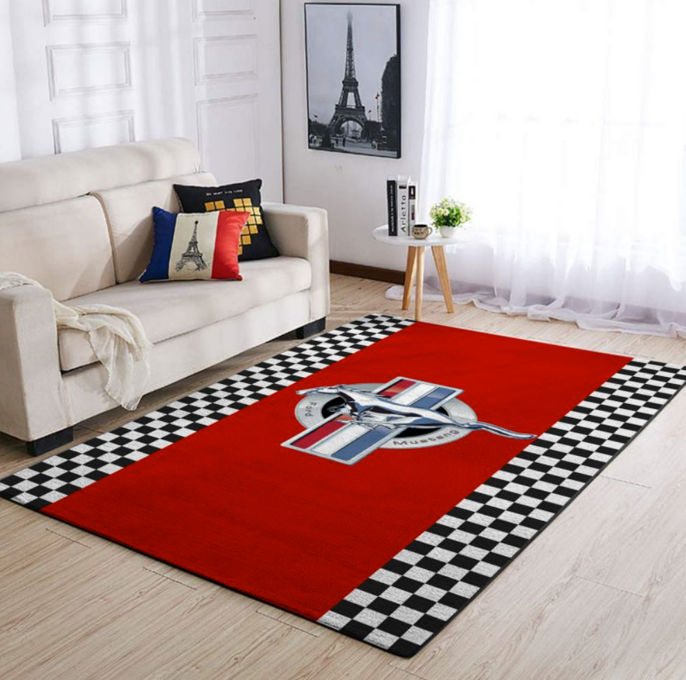Ford mustang rug 1