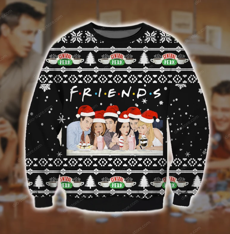 Friends TV show ugly sweater
