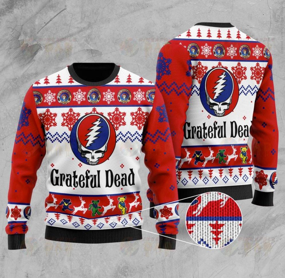 Grateful Dead ugly sweater