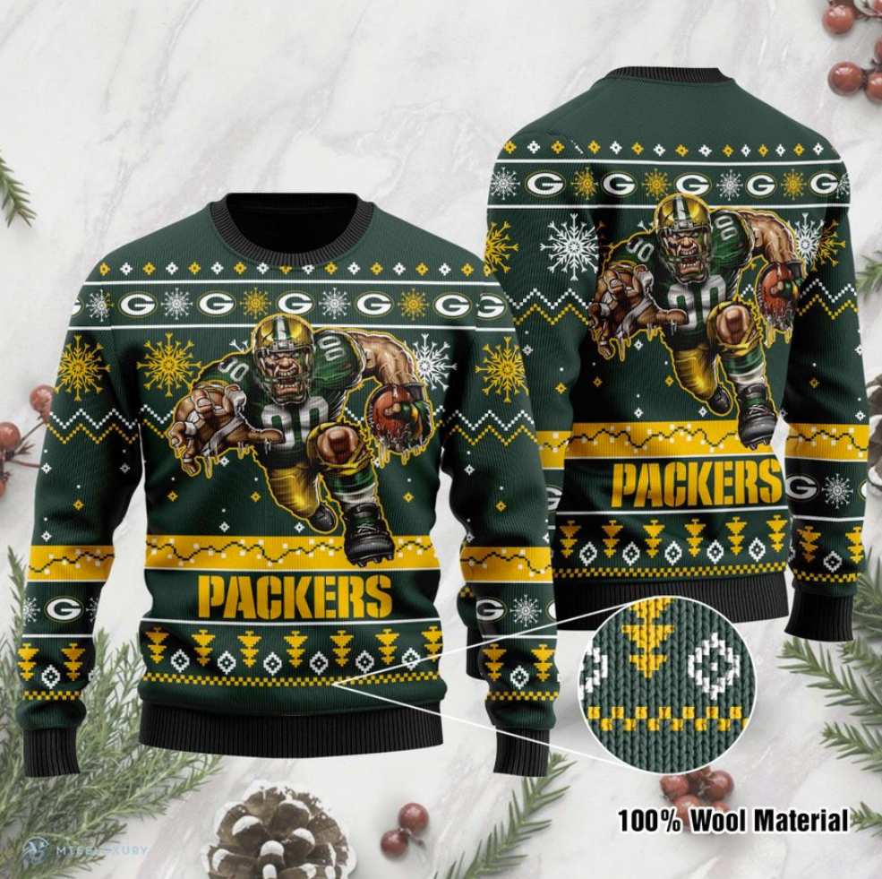 Green Bay Packers ugly sweater