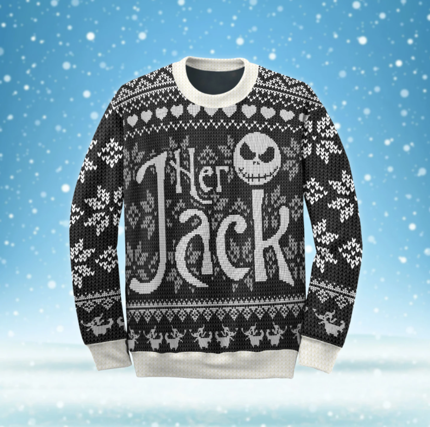 Her Jack ugly sweater
