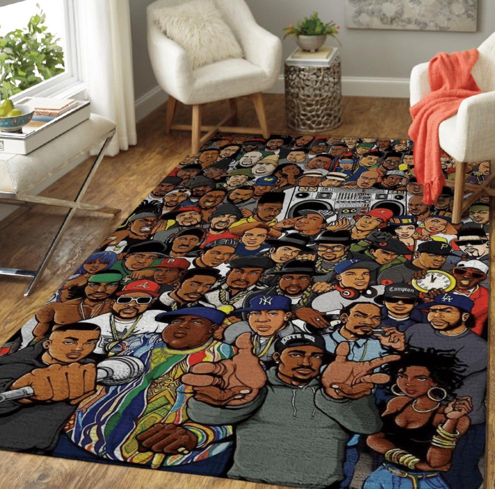 Hip hop legends rug