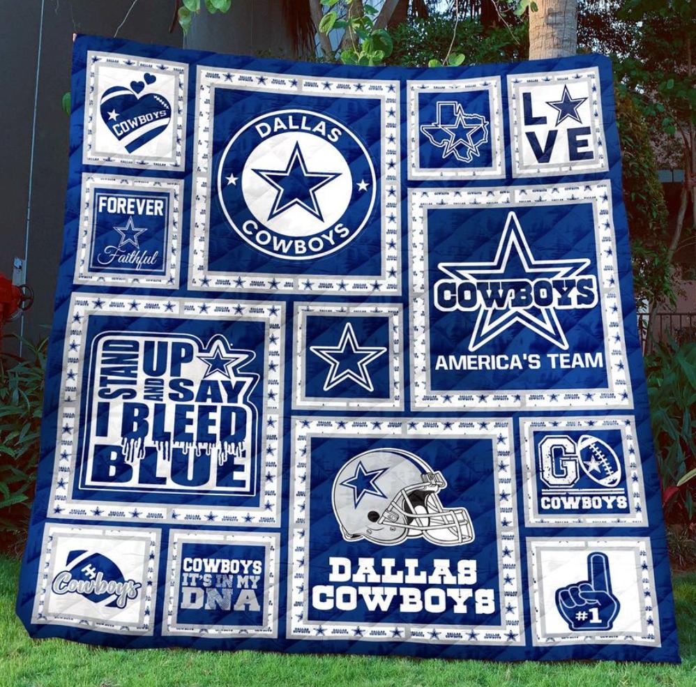 I love Dallas Cowboys 3D quilt