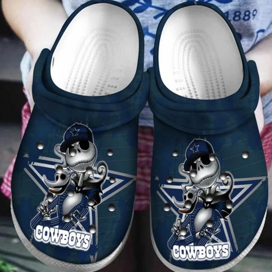 Jack Skellington Dallas Cowboys crocs crocband