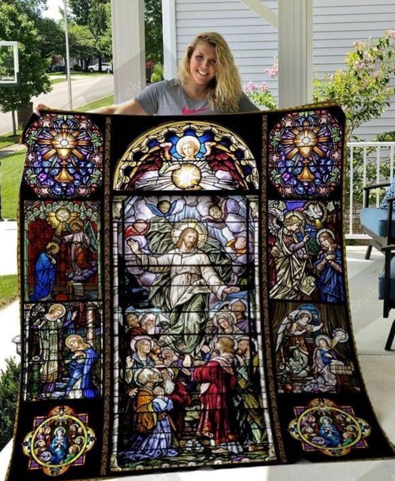Jesus 3D quilt