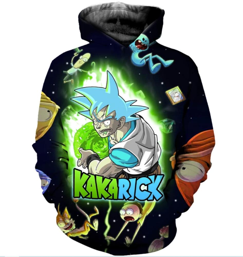 Kakarick all over printed 3D hoodie