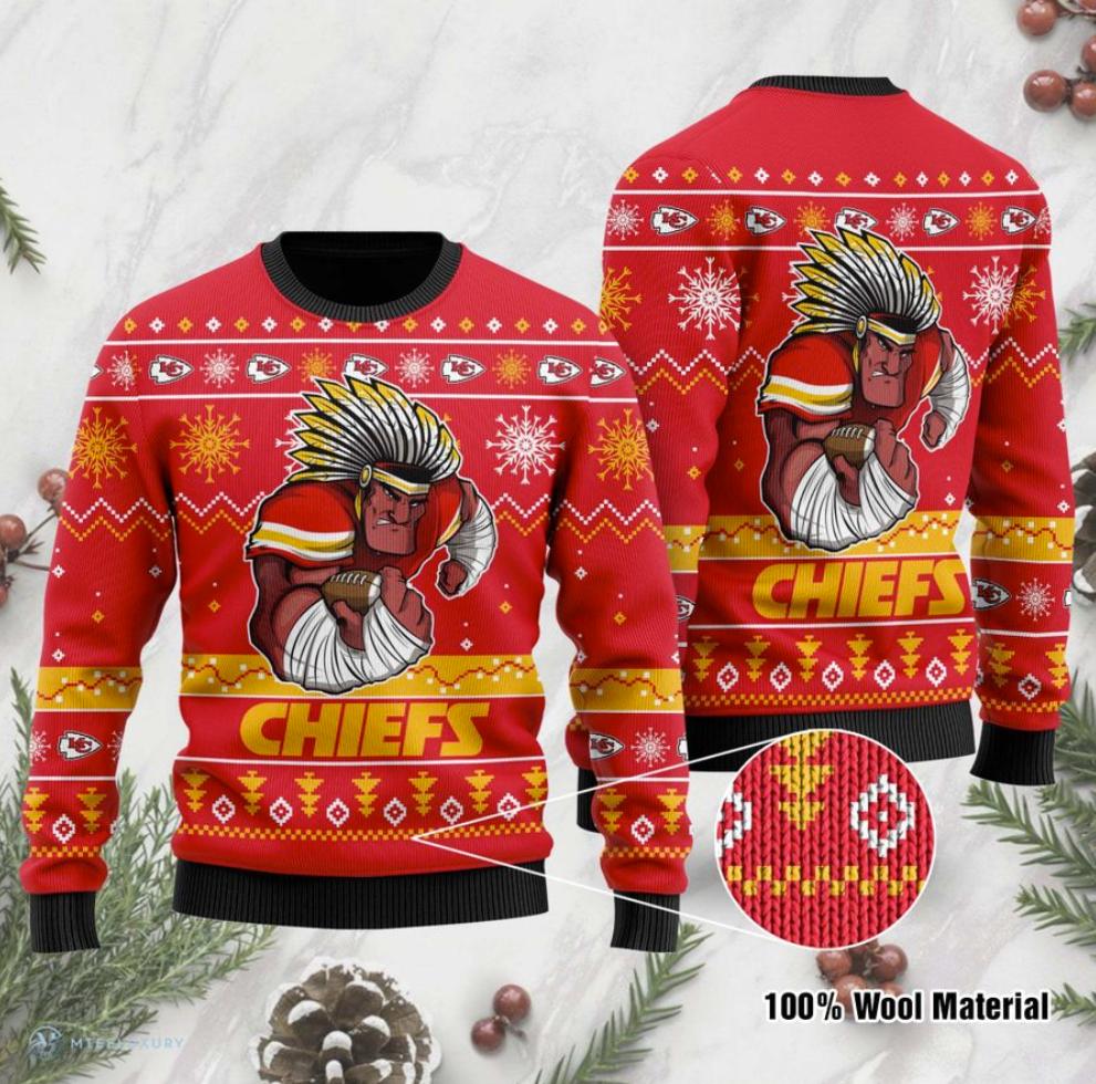 Kansas City Chiefs ugly sweater