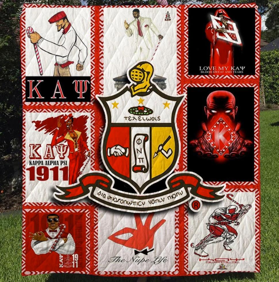 Kappa Alpha Psi 3D quilt 1