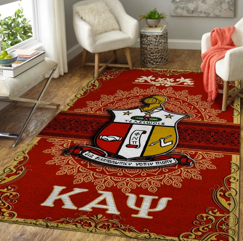 Kappa Alpha Psi rug