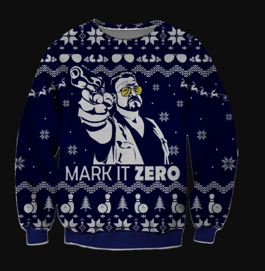 Mark it zero ugly sweater