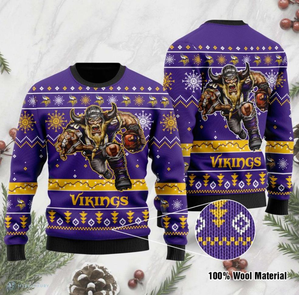 Minnesota Vikings ugly sweater