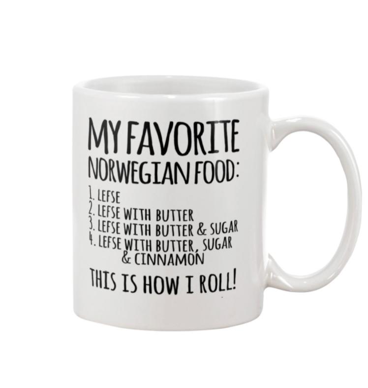 My favorite norwegian food mug