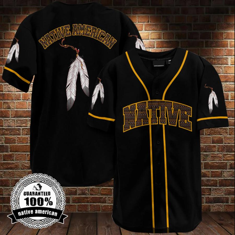 Native American baseball shirt