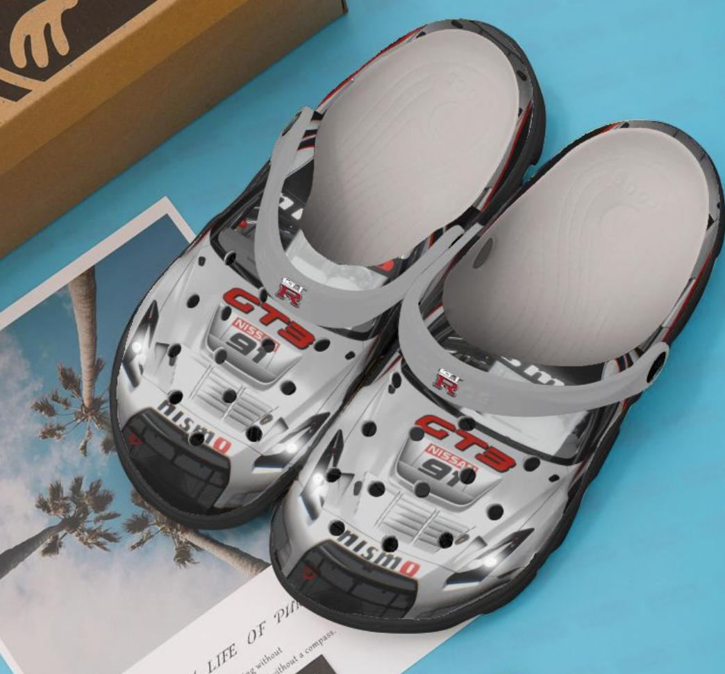 Nissan GT-R car crocs crocband 1
