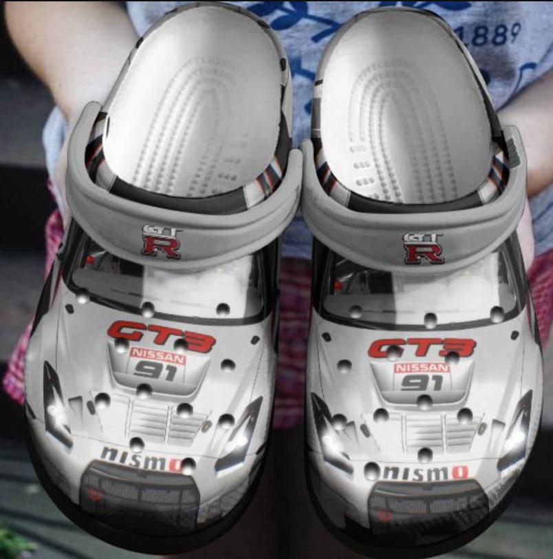 Nissan GT-R car crocs crocband