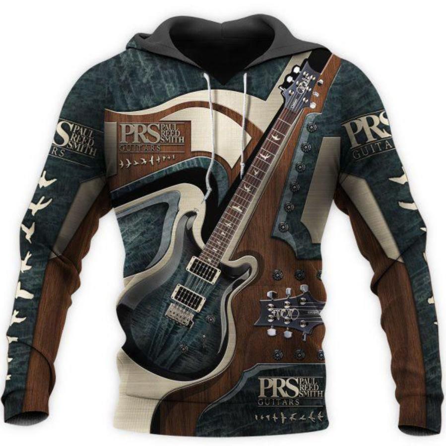 PRS Guitar all over printed 3D hoodie