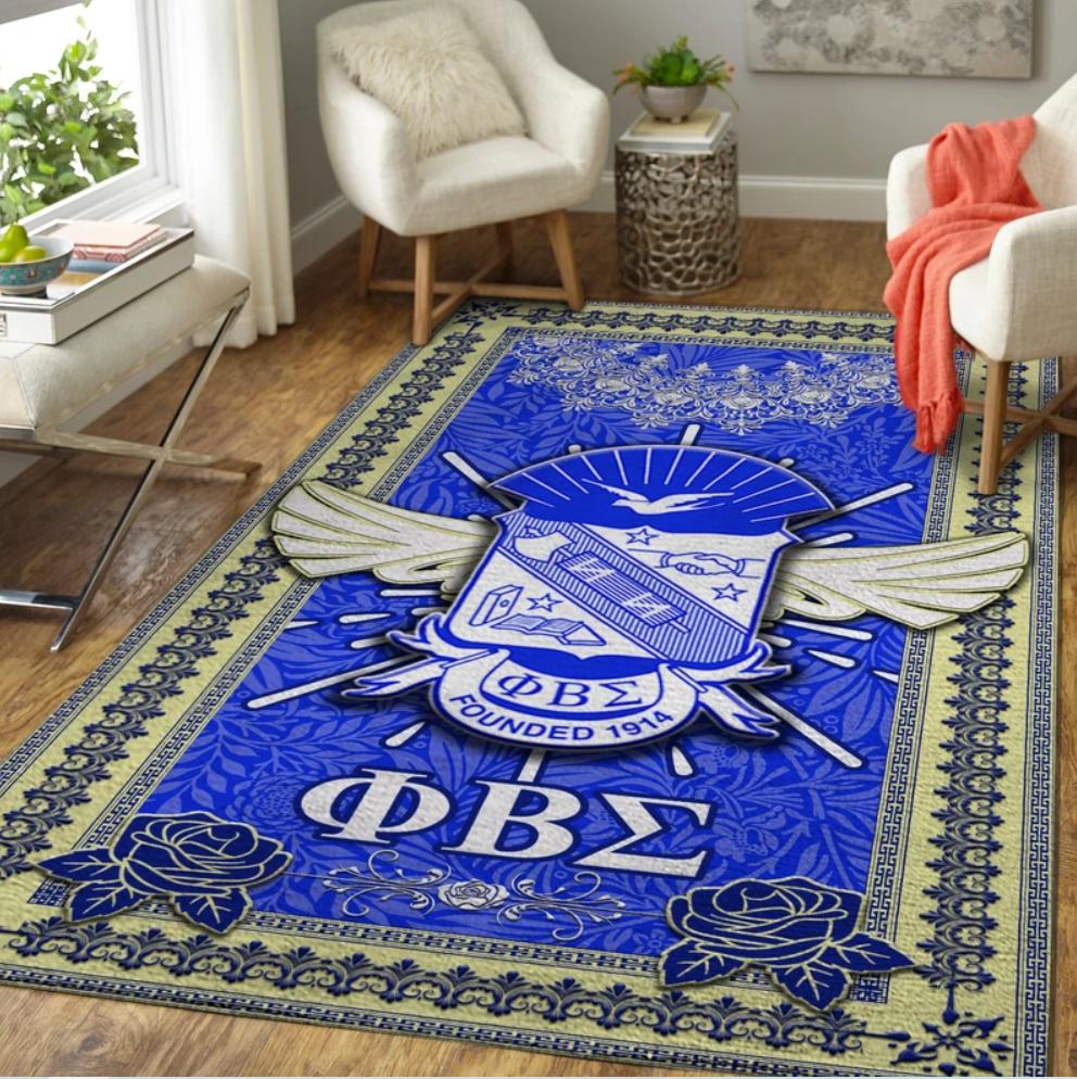 Phi Beta Sigma rug