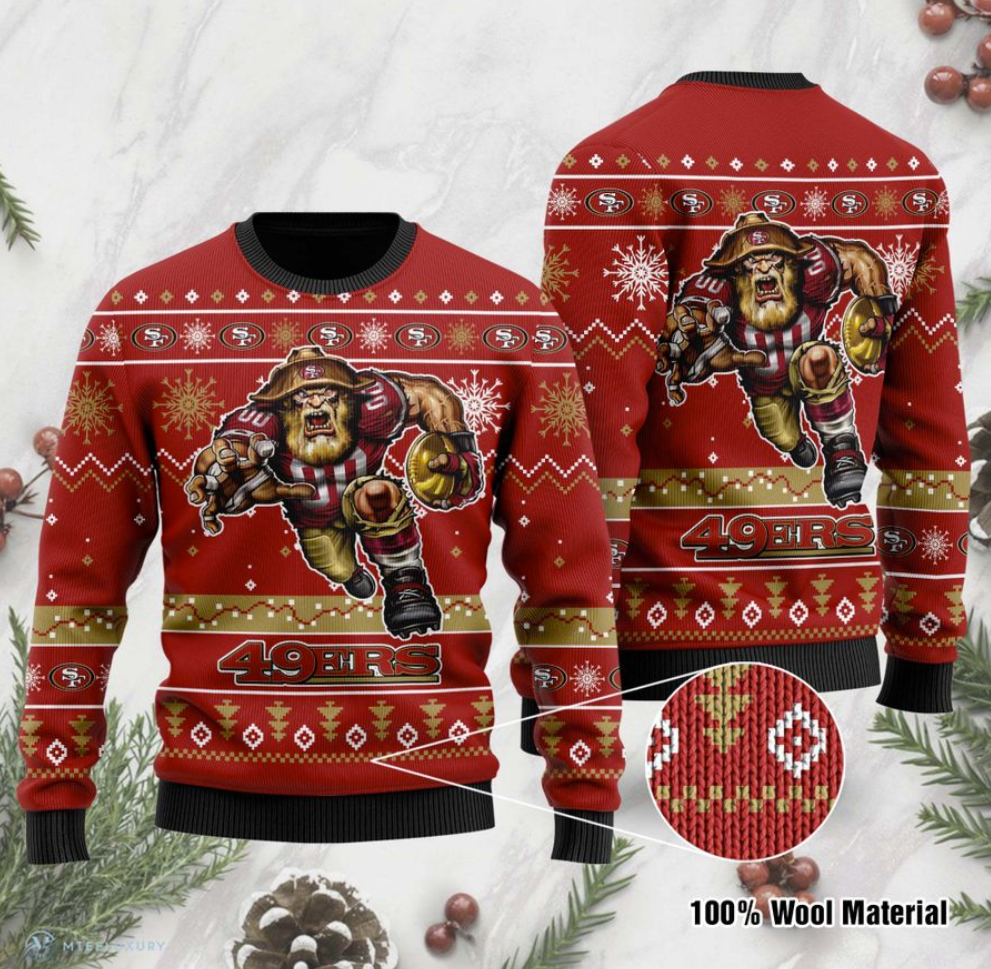 San Francisco 49ers ugly sweater
