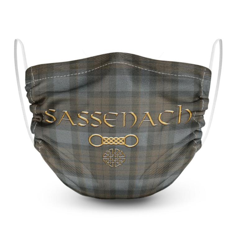 Sassenach face mask