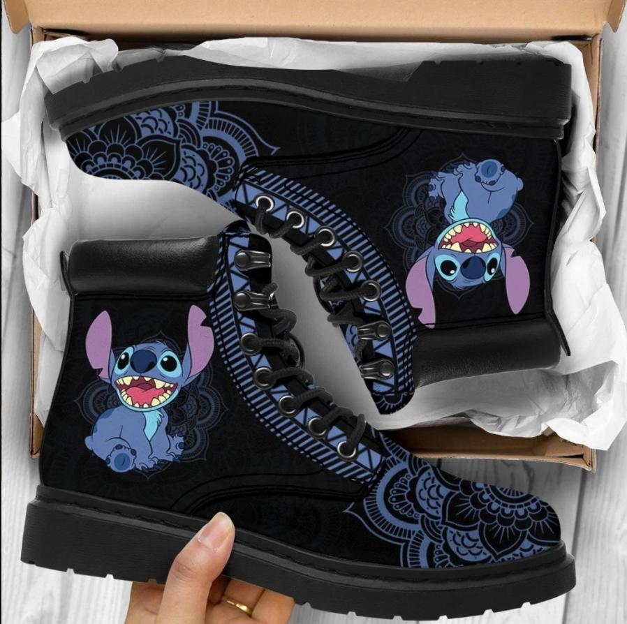 Stitch timberland boots