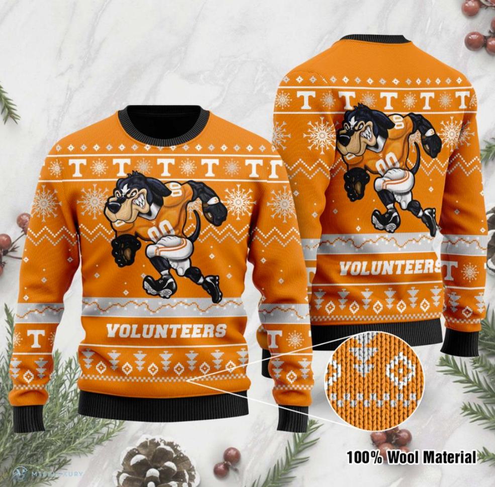 Tennessee Volunteers football ugly sweater