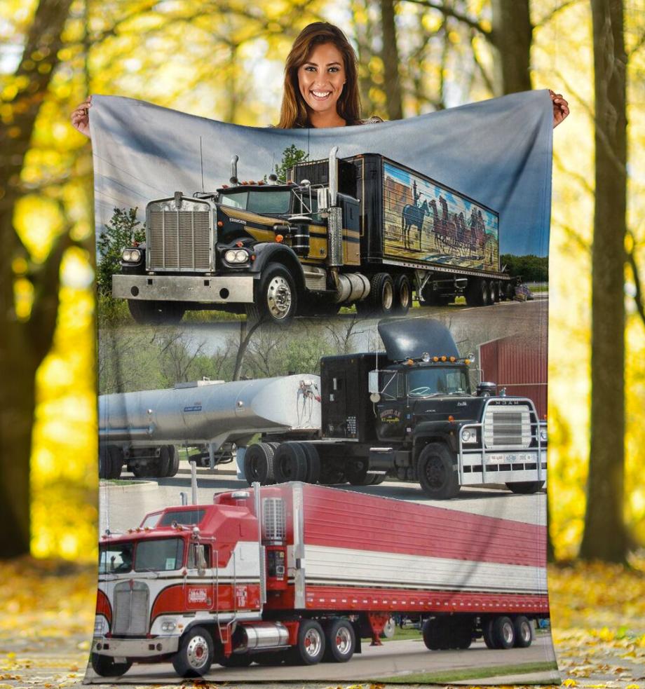 Trucker 3D quilt