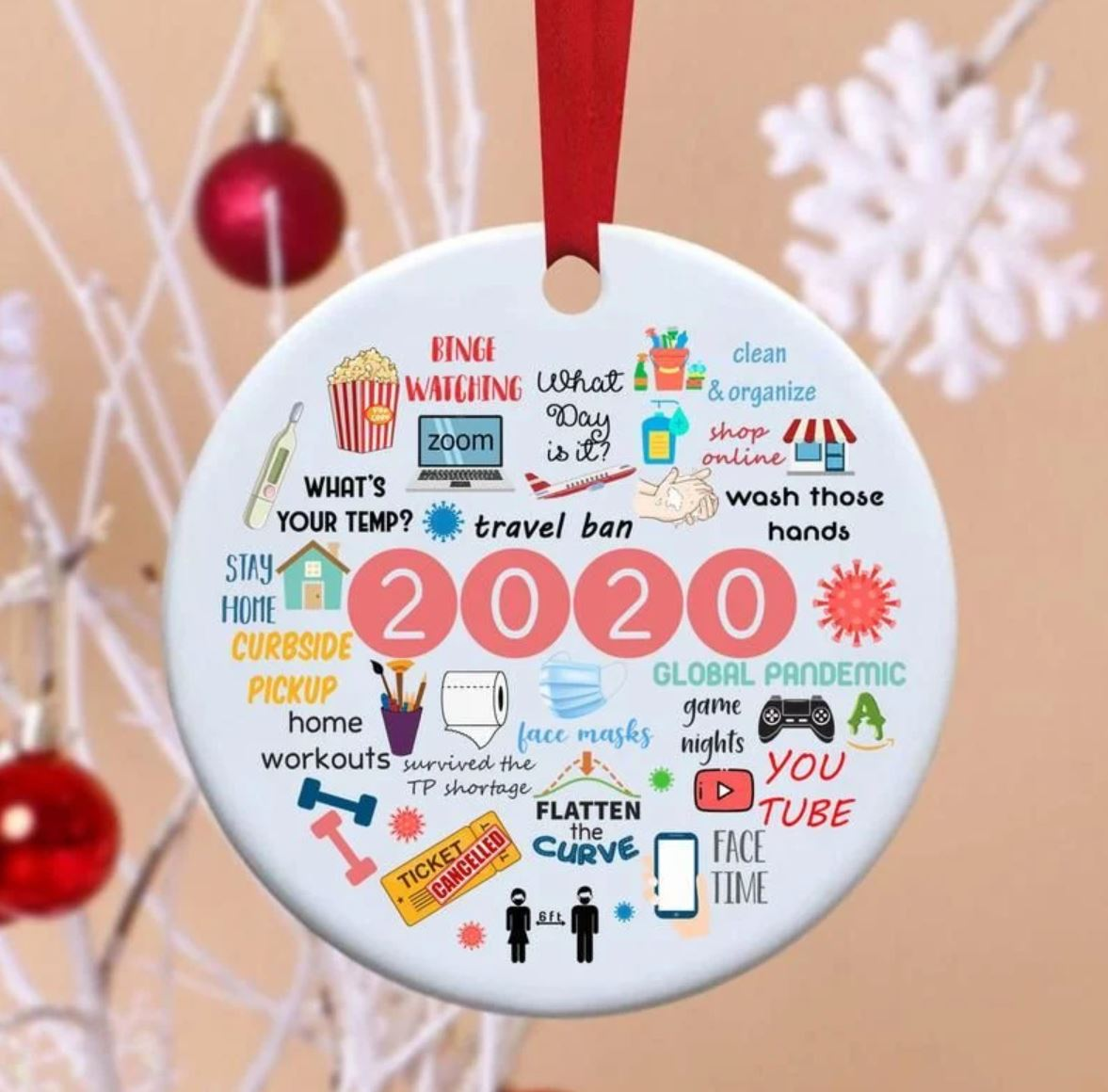 2020 Annual Events Christmas Ornament 1