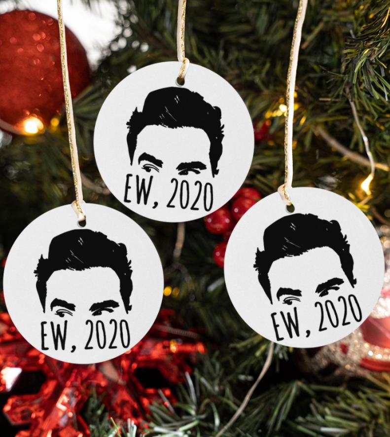 David ew 2020 Christmas ornament