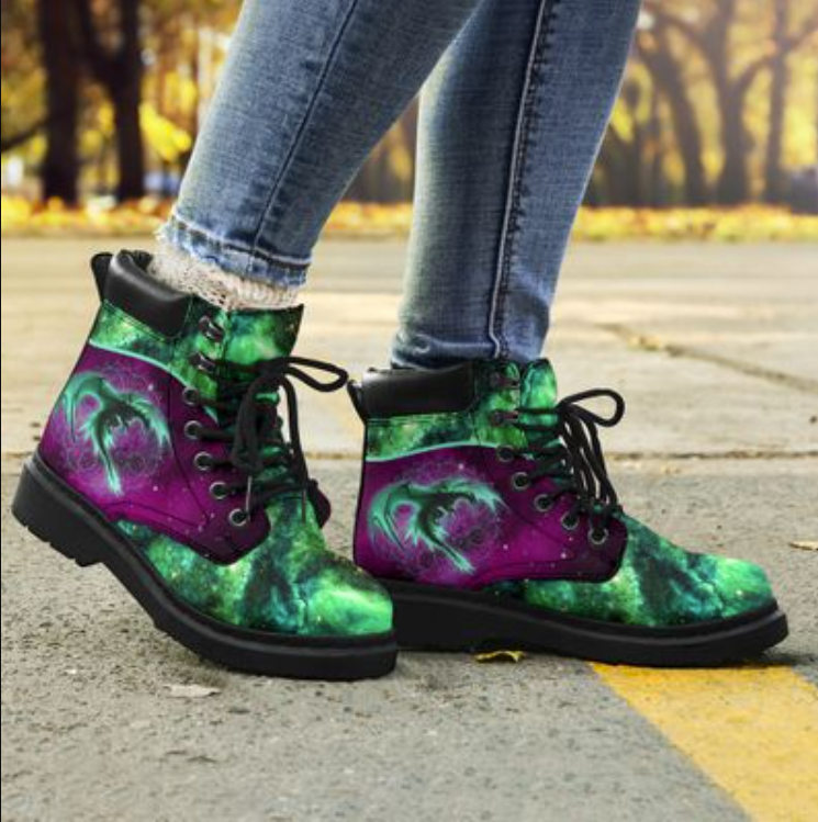 Dragon of the galaxy timberland boots 1