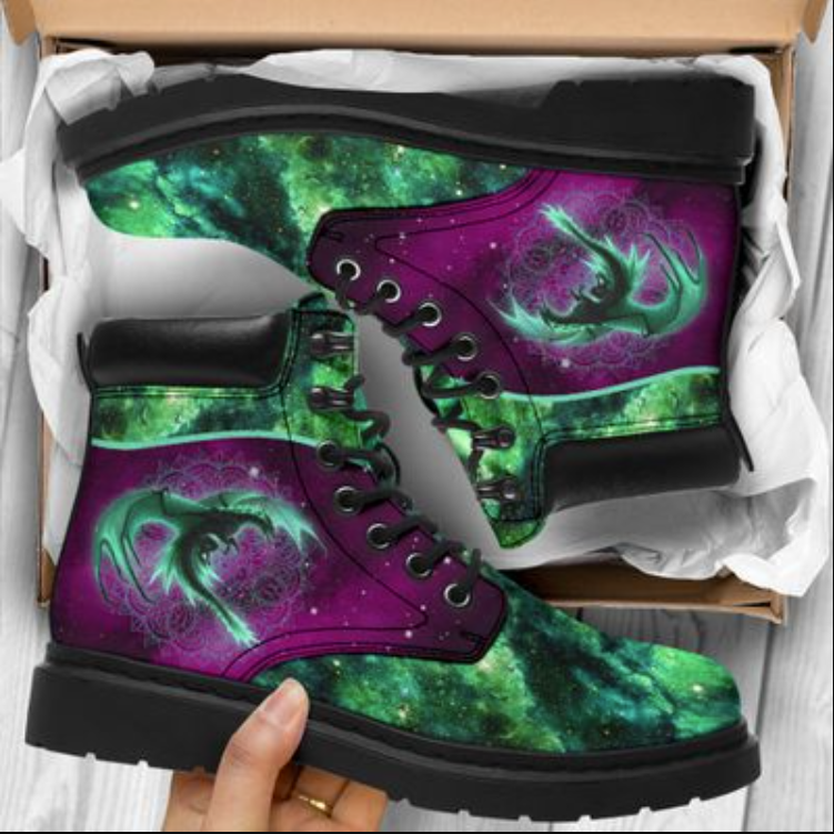 Dragon of the galaxy timberland boots