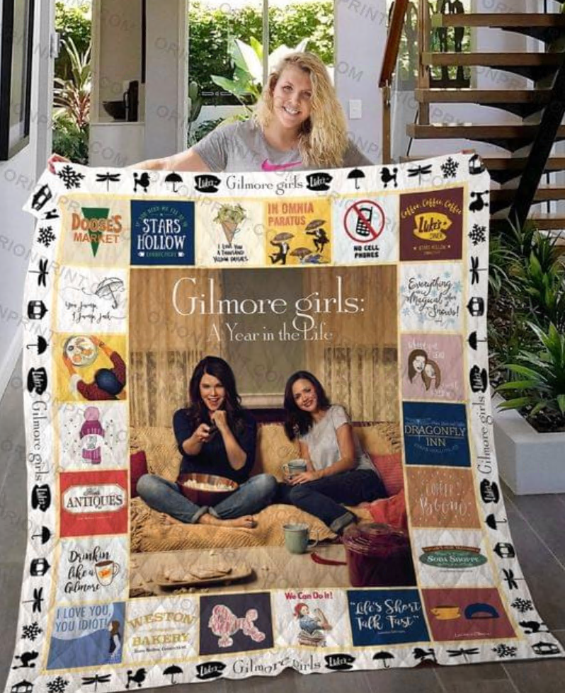 Gilmore girls a year in the life quilt