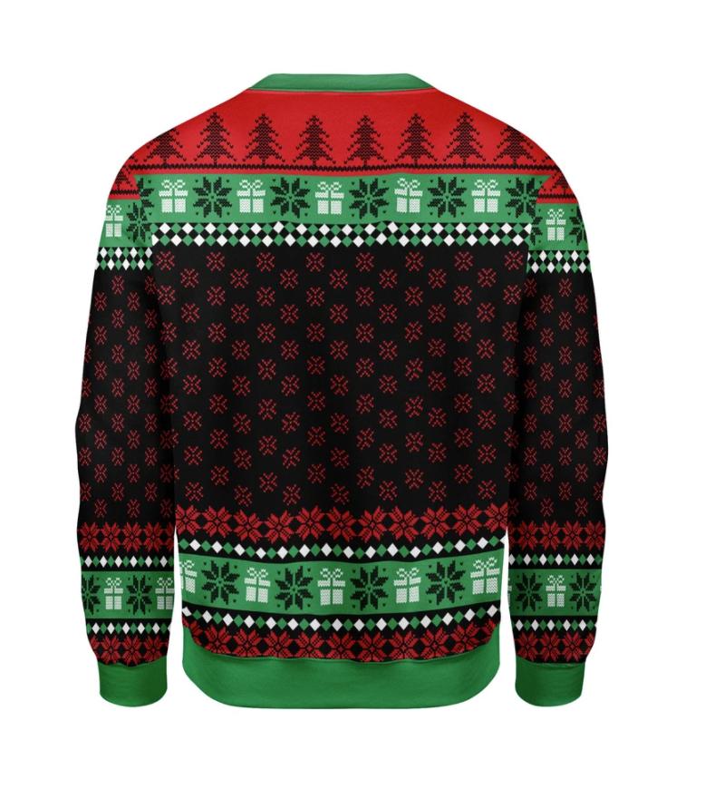 Grinch 2020 stink stank stunk ugly sweater 1