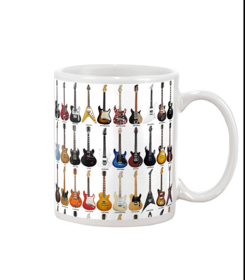 Guitars mug