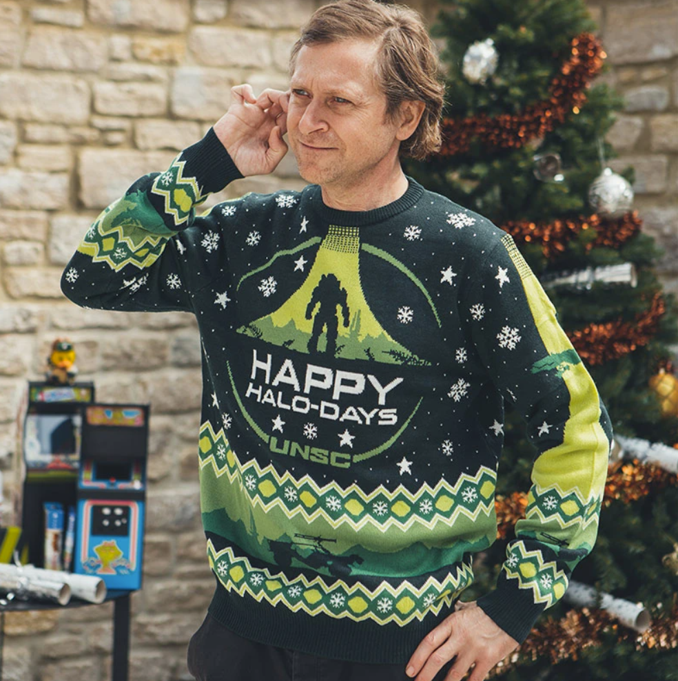 Happy Halo day unsc ugly sweater