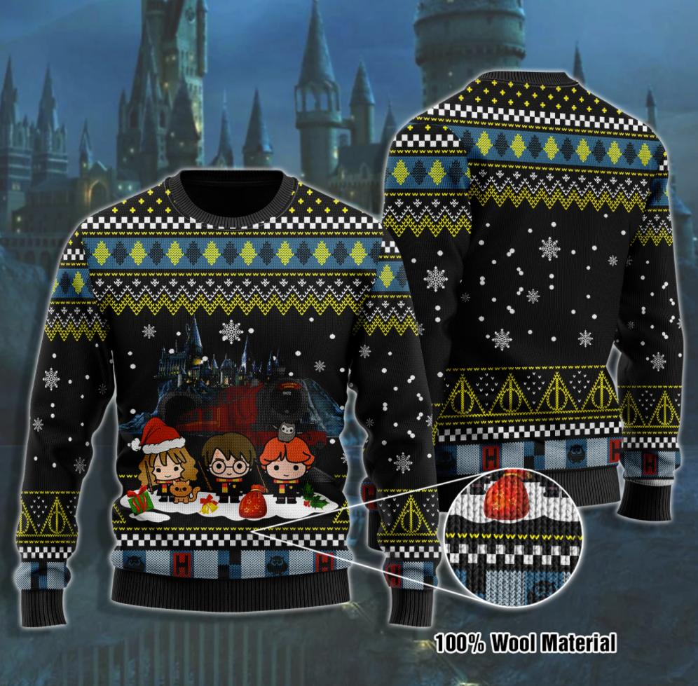 Harry Potter chibi ugly sweater
