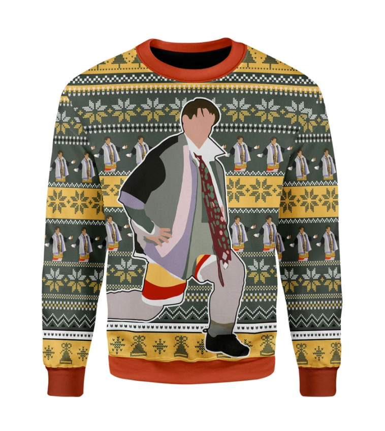 Joey could i be wearing anymore clothes ugly sweater