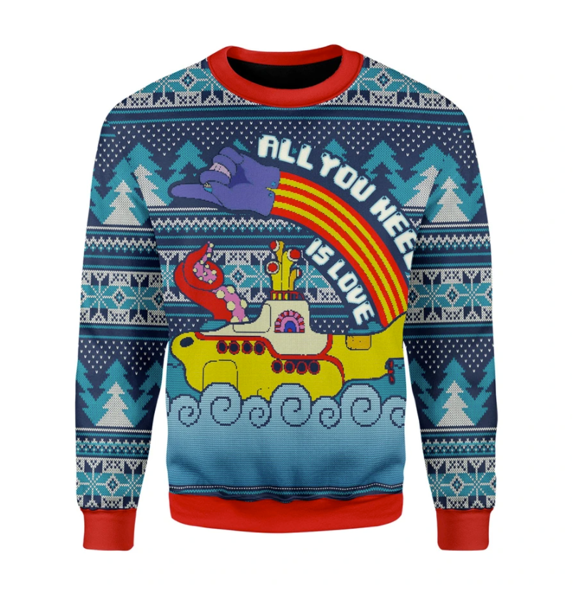 LGBT all you need is love ugly sweater