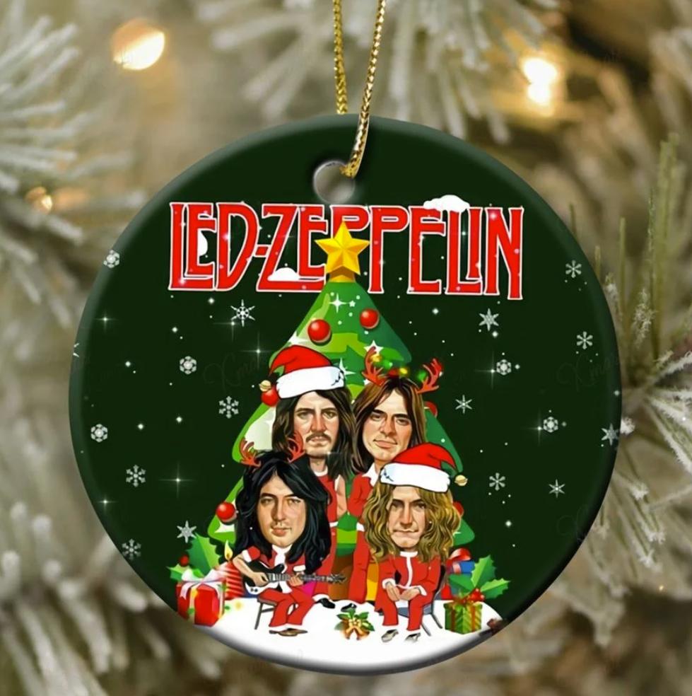 Led Zeppelin Christmas Ornament