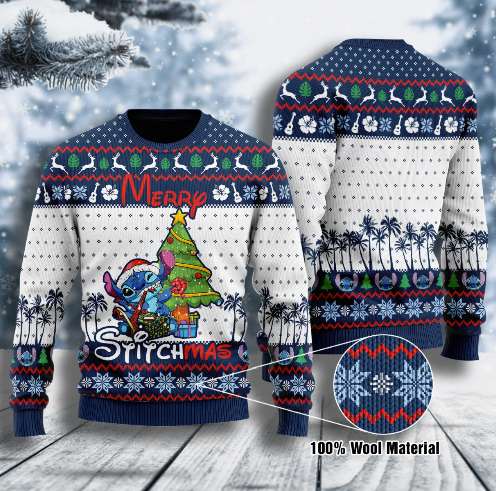 Merry Stitchmas ugly sweater
