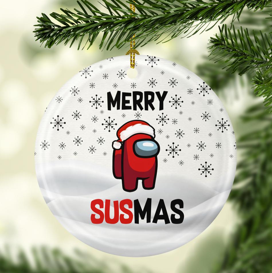 Merry susmas Christmas Ornament