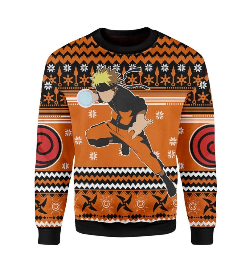 Naruto ugly sweater