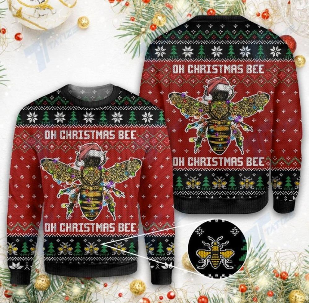Oh Christmas bee oh Christmas bee ugly sweater